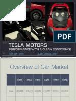 Tesla Motors Presentation