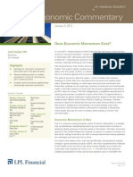 Weekly Economic Commentary 01-10-12