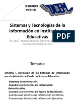 Sistemas y Tecnologías de la Información en Instituciones