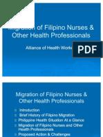 AHWMigration of Nurses
