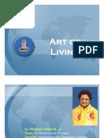 Art of Living - Dr. Pranav Pandya