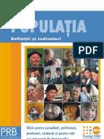 Populatia - Definitii Si Indicatori