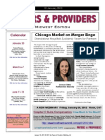 Payers & Providers Midwest Edition – Issue of January 10, 2012