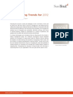 Top Learning Trends for 2012