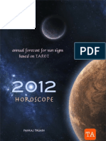 2012 ANNUAL HOROSCOPE FOR SUN SIGNS BASED ON TAROT