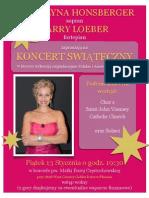 Polish Church Concert Poster