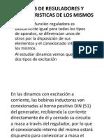 Tipos de Reguladores y Caracteristicas de Los Mismos......