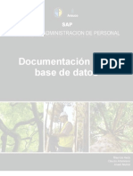 Documentación de La Base de Datos