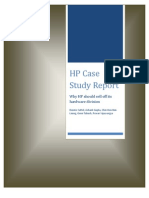 Case Study Report-HP