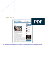 Web Expreso 6 de Junio 2011