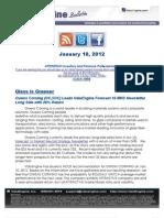 Owens Corning (OC,$OC) Leads ValuEngine Forecast 16 MNS Newsletter Long Side with 26% Return