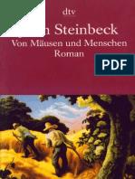 Steinbeck, John - Von Mäusen und Menschen
