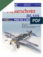 (MODELART 1-32) Messerschmitt Bf-109