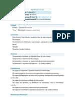 Planificação da aula do dia 15.05 1º CEB