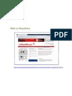 Web La Republica 13 de Setiembre 2011