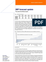 ING GBP Forecast Update