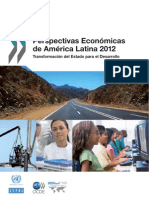 Perspectivas Económicas de América Latina 2012. Transformación del Estado para el Desarrollo.