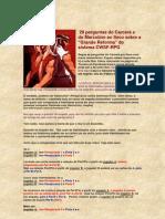 cwsf 2012 - 20 perguntas