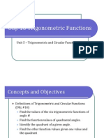 Obj. 16 Trigonometric Functions (Presentation)