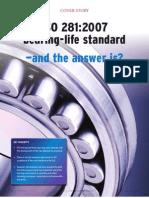 ISO 281-2007 Bearing Life Standard
