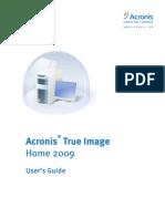 ACRONIS True Image 2009 Ug.en