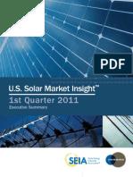 Solar Market Insight 2011 Q1