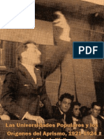 Las Universidades Populares y los Orígenes del Aprismo, 1921-1924 por Jeffrey L. Klaiber