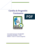 Cartilla Progresion Guaranies