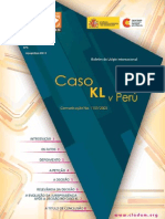 Boletim Nº5 - Caso KL v Perú, portugués