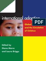 International Adoption Global Inequalities and the Circulation of Children