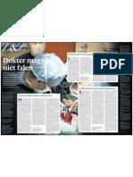 Arts mag niet falen, hoofdartikel zaterdagbijlage Z&Z NRC Handelsblad, 29 oktober 2011