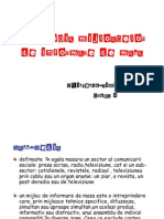 Tipologia Mijloacelor de Informare de Masa