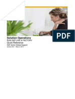 Solution Operations - Run SAP Like a Factory