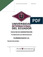Flormachachi Trabajo de Admin is Trac Ion
