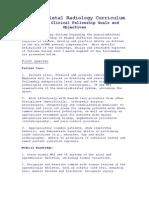 MSK Fellowship Manual