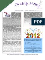 Jan 9, 2012 Fellowship News
