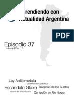 Aprendiendo con Actualidad Argentina - Episodio 37