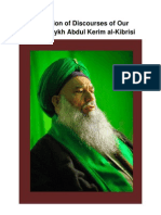 A Collection of Discourses of Our Master Shaykh Abdul Kerim Al