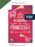 Shannon Hale - Academia de Princesas (Ptbr)