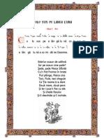 # Ez Psaltica - Colo Sus Pe Langa Luna (Gl.1)