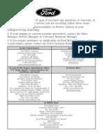 2012 Ford Manual