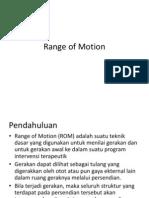 8 - Range of Motion
