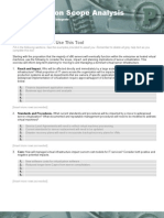 Virtualization Scope Analysis Worksheet