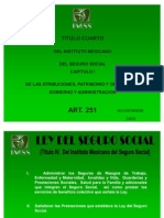 Art. 251 Ley Del Seguro Social