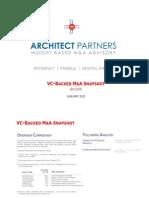 VC Backed MA Snapshot Q4 2011