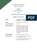 Caselaw 2006 - Constructive Dismissal