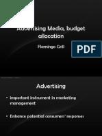 Advertising Media, Budget Allocation