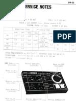 Boss DR-55 Service Manual