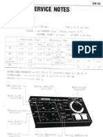 Boss DR-55 Service Manual