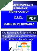 """""""ESTRATEGIAS PARA EL APRENDIZAJE SIGNIFICATIVO"""""""